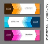 vector graphic design banner... | Shutterstock .eps vector #1290846799