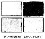 grunge frame background   Shutterstock .eps vector #1290854356