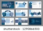 abstract presentation templates ... | Shutterstock .eps vector #1290866503