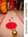 griha pravesh ritual   right... | Shutterstock . vector #1290867523