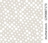 dot halftone seamless pattern ...   Shutterstock .eps vector #1290887173