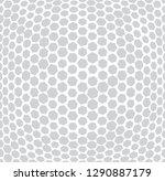 hexagon trippy seamless pattern ...   Shutterstock .eps vector #1290887179