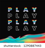 play color gradients. black...