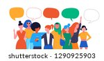 international women s day.... | Shutterstock .eps vector #1290925903
