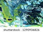 acrylic pouring.  multicolor... | Shutterstock . vector #1290936826