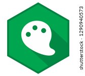 drawing palette green vector... | Shutterstock .eps vector #1290940573