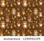 leaf vector illustration... | Shutterstock .eps vector #1290942199