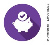 piggy bank icon  business icon... | Shutterstock .eps vector #1290948313