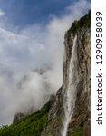 springtime at lauterbrunnen... | Shutterstock . vector #1290958039