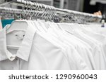 white medical uniform clothes... | Shutterstock . vector #1290960043