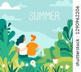 vector illustration in flat...   Shutterstock .eps vector #1290962206
