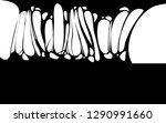 slime sticky black banner ... | Shutterstock .eps vector #1290991660