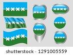 flag of cedar park  texas   Shutterstock .eps vector #1291005559