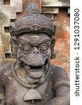 hindu statue  tirta empul... | Shutterstock . vector #1291037080
