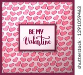 valentines day quote for... | Shutterstock .eps vector #1291059463