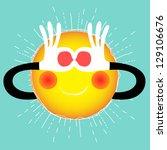summer sun | Shutterstock .eps vector #129106676