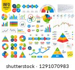 business timeline. pencil and... | Shutterstock .eps vector #1291070983