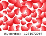 valentine's day holiday... | Shutterstock .eps vector #1291072069