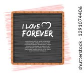 love or valentine's day concept  | Shutterstock .eps vector #1291074406