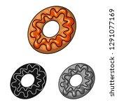 vector design of confectionery... | Shutterstock .eps vector #1291077169