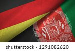 germany and afghanistan two...   Shutterstock . vector #1291082620