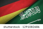 germany and saudi arabia two...   Shutterstock . vector #1291082686