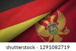 germany and montenegro two...   Shutterstock . vector #1291082719