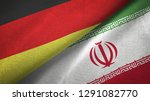 germany and iran two flags...   Shutterstock . vector #1291082770
