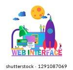 flat vector illustration  web...