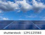 solar panel  alternative... | Shutterstock . vector #1291125583