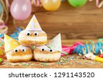 carnival background with party... | Shutterstock . vector #1291143520