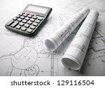 the development of technology... | Shutterstock . vector #129116504