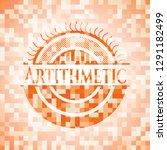 artithmetic abstract orange... | Shutterstock .eps vector #1291182499