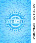extremely realistic light blue... | Shutterstock .eps vector #1291182529