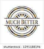 much better arabesque badge.... | Shutterstock .eps vector #1291188196