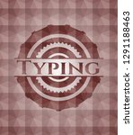 typing red seamless geometric... | Shutterstock .eps vector #1291188463