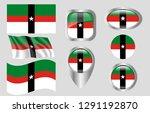 flag of denison  texas   Shutterstock .eps vector #1291192870