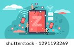 generation z vector... | Shutterstock .eps vector #1291193269