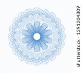 light blue abstract linear... | Shutterstock .eps vector #1291204309