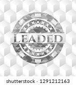 leaded realistic grey emblem... | Shutterstock .eps vector #1291212163