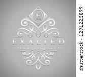 letter e logo   classic  ... | Shutterstock .eps vector #1291223899
