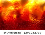 close up of carbonated drink  ... | Shutterstock . vector #1291253719