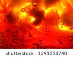 close up of carbonated drink  ... | Shutterstock . vector #1291253740