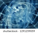 abstract background element.... | Shutterstock . vector #1291259059
