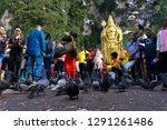 batu caves  malaysia january 21 ... | Shutterstock . vector #1291261486