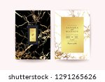 luxury wedding invitation cards ... | Shutterstock .eps vector #1291265626