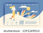 vector concept for landing page ...   Shutterstock .eps vector #1291269013