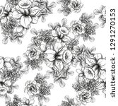 flower print. elegance seamless ...   Shutterstock . vector #1291270153