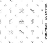 hardware icons pattern seamless ... | Shutterstock .eps vector #1291291906