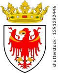 coat of arms of south tyrol is... | Shutterstock .eps vector #1291292446